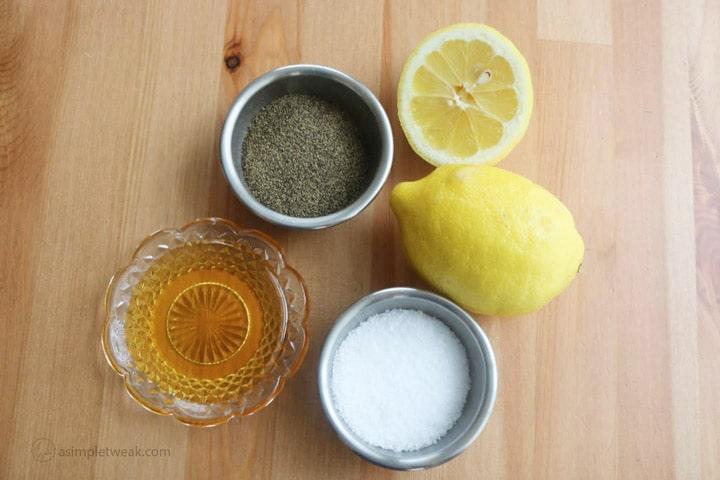 Ingredients-for-quinoa-salad-dressing