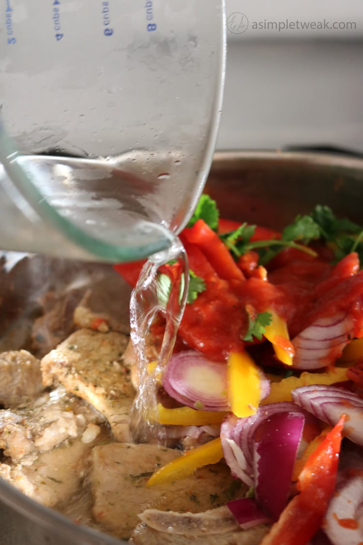 add-water-to-the-pork-chops