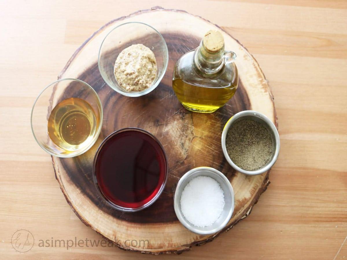 Ingredients-for-Pomegranate-Vinaigrette