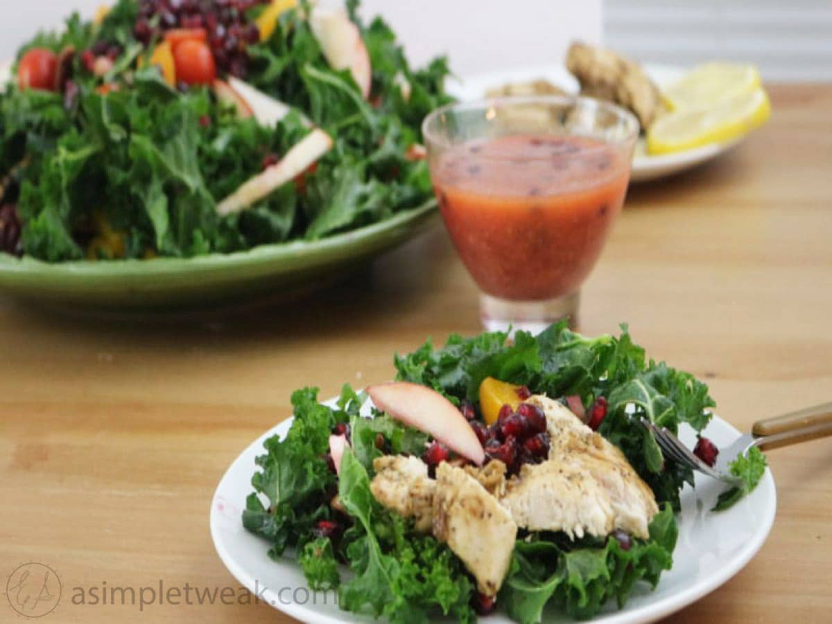 kale-salad-with-chicken-breast-recipe
