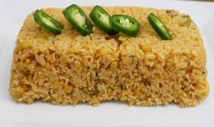 Spicy corn-Rice