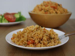 Corn rice