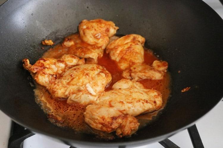 Chicken thigh-recipe