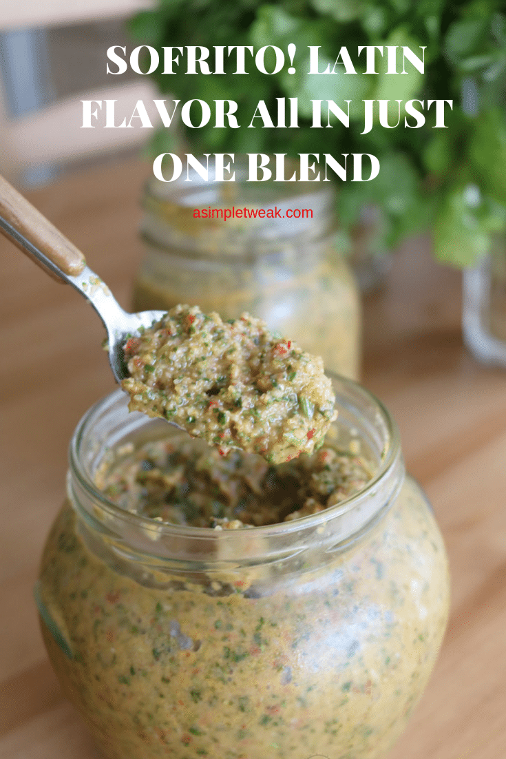 SOFRITO! LATIN FLAVOR All IN JUST ONE BLEND