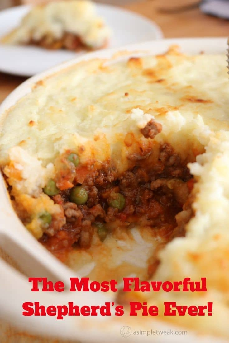 The Most Flavorful Shepherd's Pie Ever!