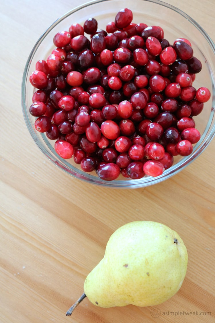 Cranberries-and-pear