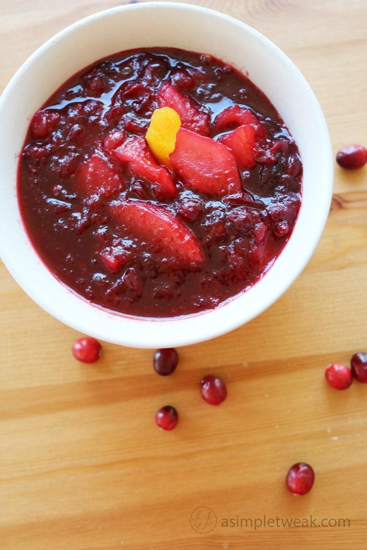Cranberry-Pear-Sauce