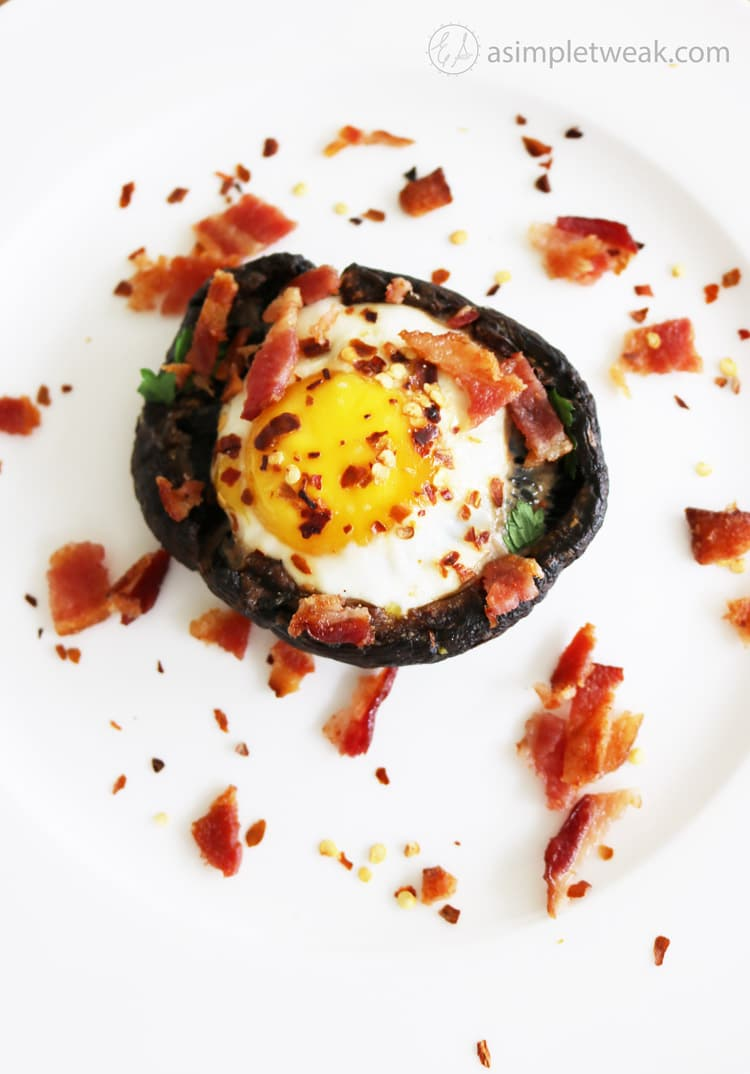 Low-Carb-Bacon-Egg-and-Portobello-Recipe