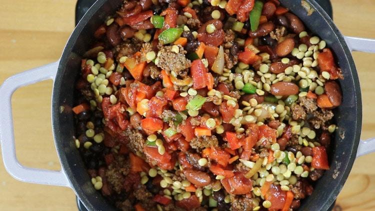 add-lentils