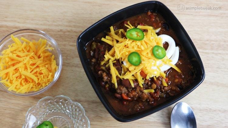 ground beef Chili Recipe