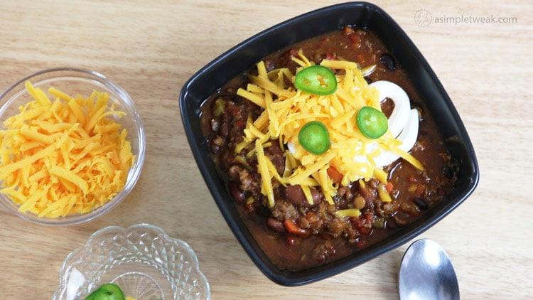 Chili- Recipe