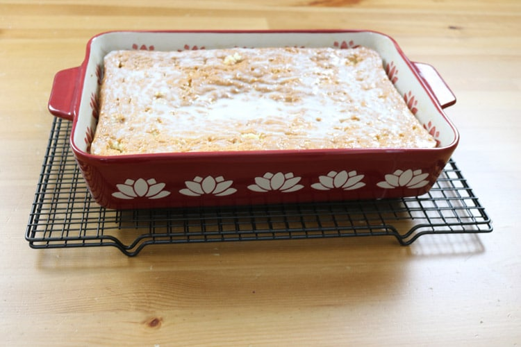 Place-the-cake-in-the-refrigerator-allowing-the-cake-to-soak-all-the-milk.-About-30-minutes-or-better-yet-overnight!