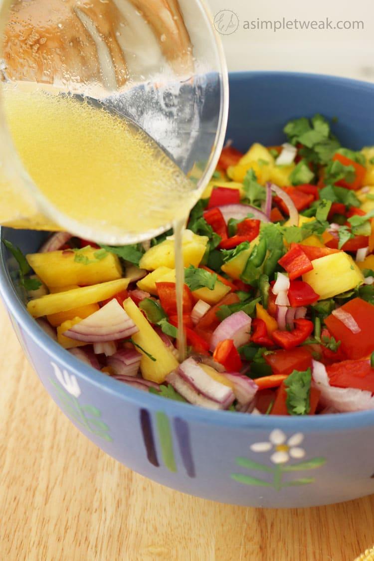 Pineapple-Salsa-with-a-Lemon-Honey-Dressing