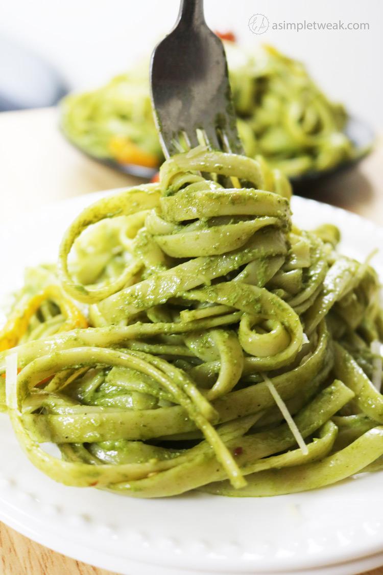 Basil-Fettuccini-Recipe