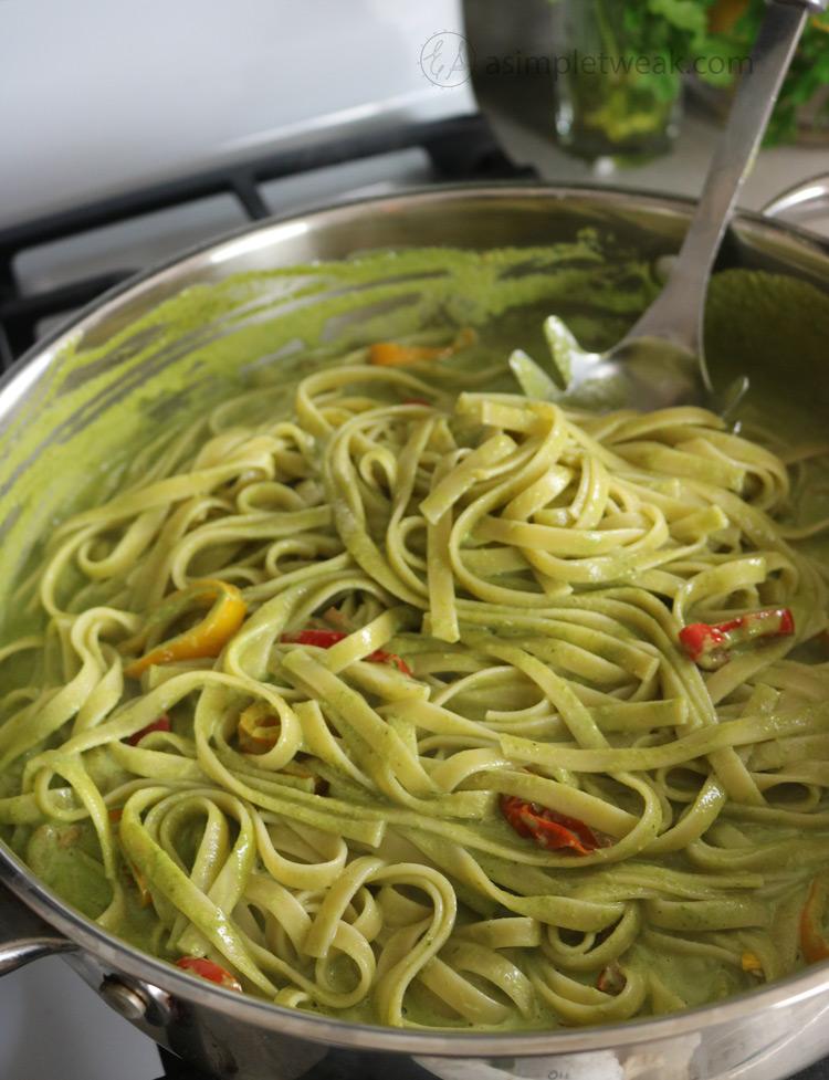 Fettuccini-Recipe